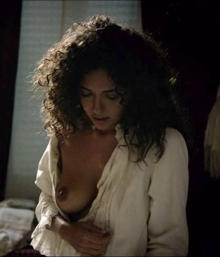 serena rossi topless in rossella il coraggio di una donna