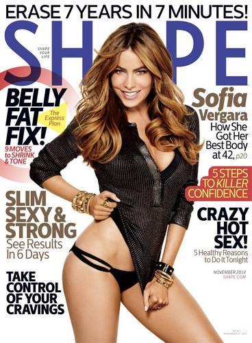 Sofia Vergara  Shape magazine Novembre 2014_FV001