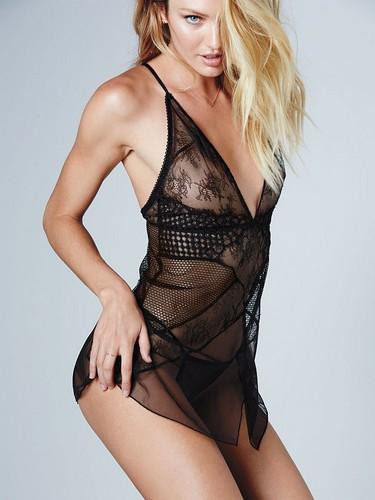 Candice Swanepoel : Victoria's Secret Lingerie Photoshoot (Gennaio 2015)