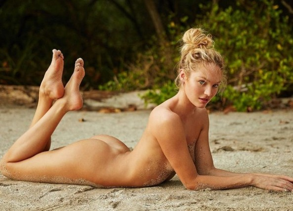 Candice Swanepoel Completamente Nuda in Costa Rica