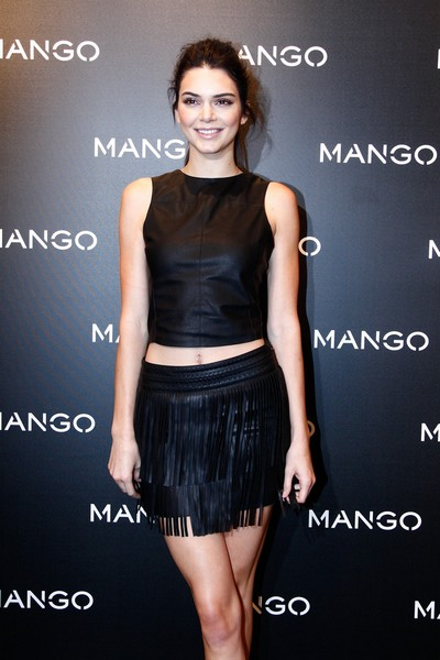 Kendall Jenner: Leggy at Mango Event in Barcellona (28 gennaio)