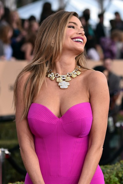 Sofia Vergara: Seno Esplosivo agli Screen Actors Guild Awards (30 gennaio)