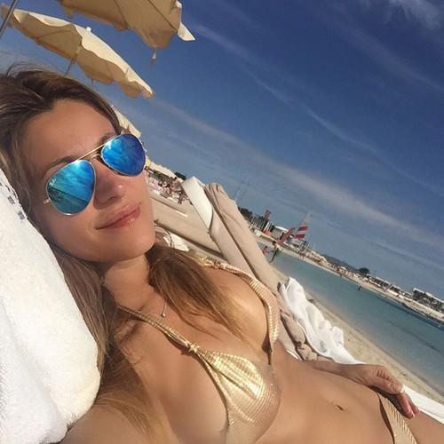 Adriana Volpe in Bikini da Instagram 29/06/2016