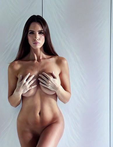 Lucia Javorcekova : Nuda da un Servizio Fotografico e dal Backstage