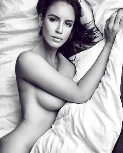 Lucia Javorcekova Nuda in Servizio Fotografico Sconosciuto