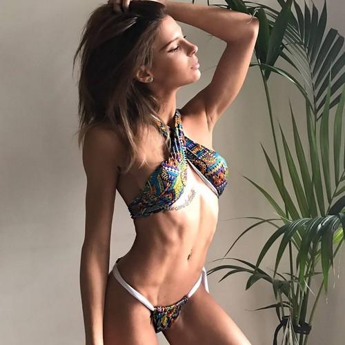 Giulia Calcaterra in Bikini : Testimonial Elle Bi Bikini Collezione 2017