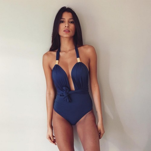 Mariana Rodriguez in Sexy Costume da Bagno : da Instagram, 29 dicembre 2016
