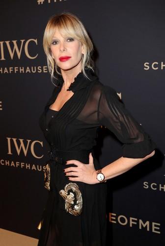 Alessia Marcuzzi: Evento IWC Schaffhausen a Ginevra, 17 gennaio 2017