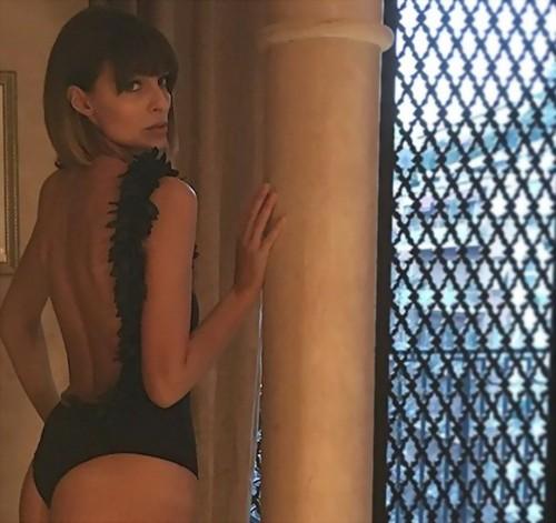 Cristina Chiabotto : Lato B da favola dal Backstage - 27 gennaio 2017