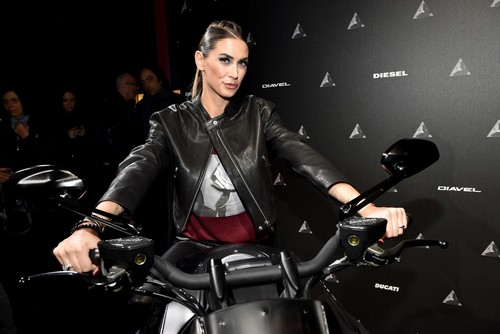 Melissa Satta : Ducati Diavel Diesel Global Premiere, 16 gennaio 2017