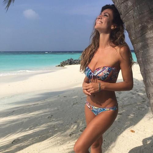 Alessia Ventura : Nuovi scatti in bikini alle Maldive