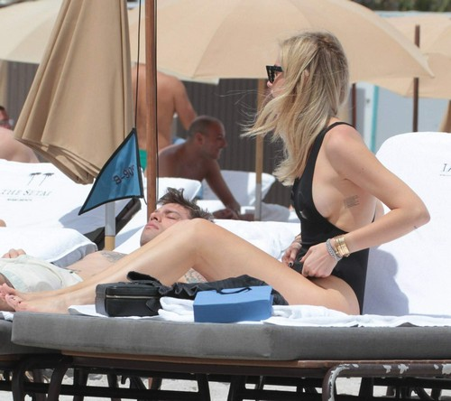 Chiara Ferragni in Bikini a Miami