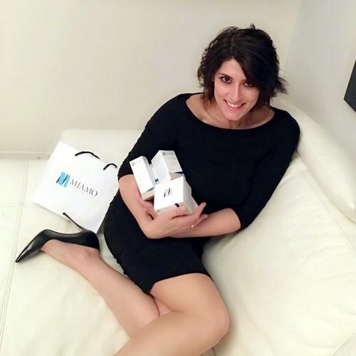 Elisa Isoardi : Gambe da favola in Minigonna dal Camerino