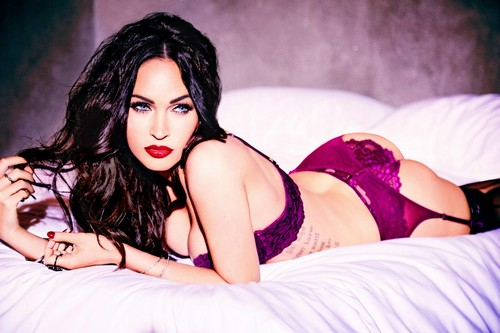 Megan Fox in Lingerie : Frederick's of Hollywood Photoshoot 2017