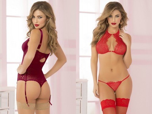 Simone Villas Boas in lingerie : Seven Til Midnight Photoshoot 2017