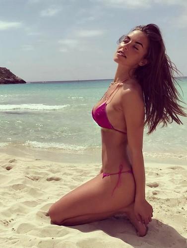 Alessia Reato in Bikini a Lampedusa - 16 maggio 2017