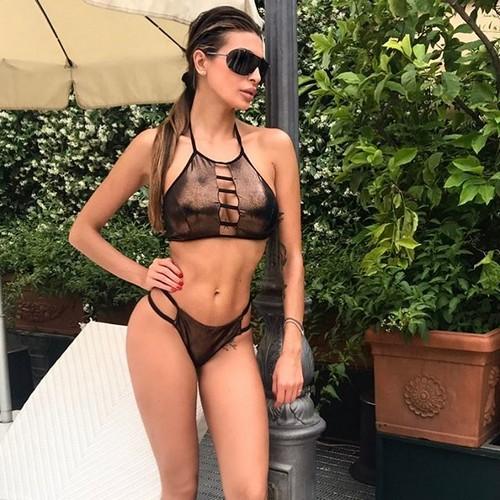 Cristina Buccino in Bikini a Roma 24 maggio