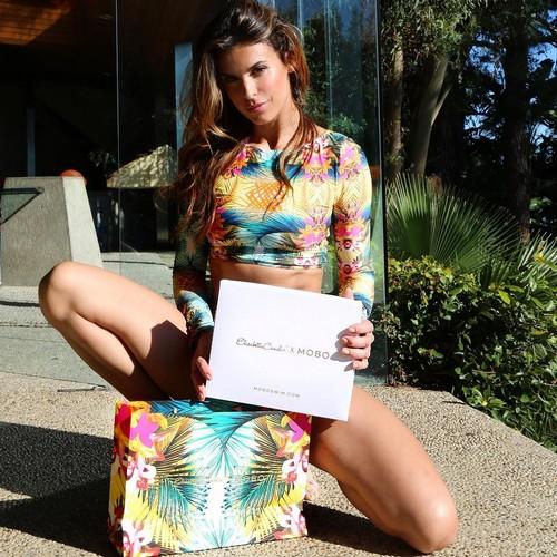 Elisabetta Canalis in Bikini a Laguna Beach - 21 maggio 2017