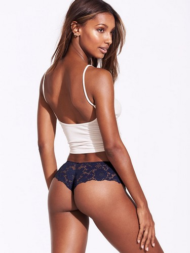 Jasmine Tookes in Lingerie Victoria's Secret Photoshoot - Maggio 2017