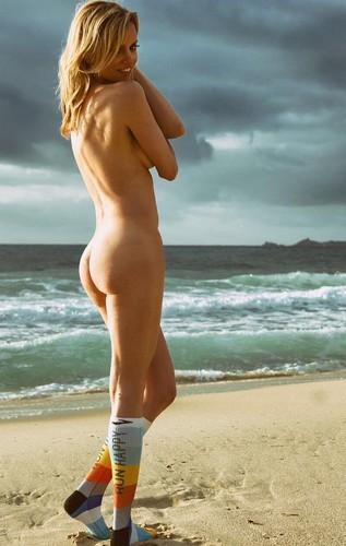 Justine Mattera : Lato B Completamente Nudo in un Servizio Fotografico