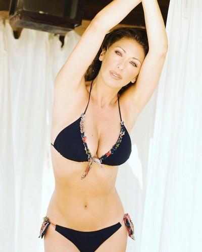 Sabrina Salerno in Bikini a Montecarlo - 11 maggio 2017