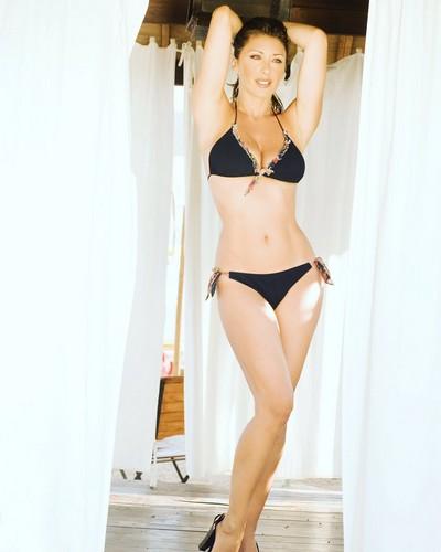 Sabrina Salerno in Bikini a Montecarlo - 13 maggio 2017