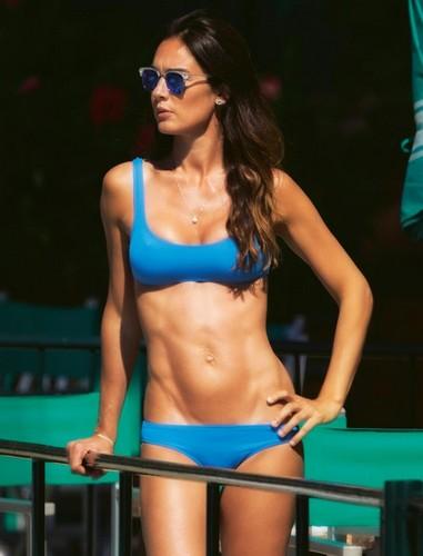 Silvia Toffanin in Bikini a Portofino Paparazzata da Chi - Maggio 2017