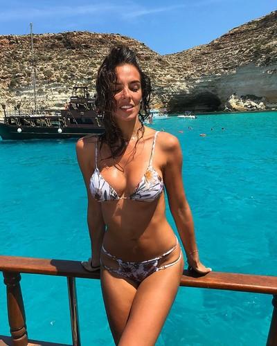 Alessia Reato in Bikini a Lampedusa - 17 giugno 2017