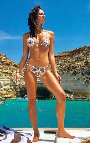 Alessia Reato in Bikini a Lampedusa - 20 giugno 2017