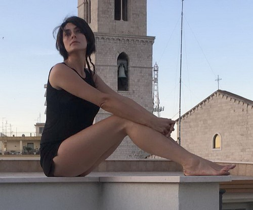Elisa Isoardi : Gambe da Favola in Micro Shorts ad Andria - 18 giugno 2017