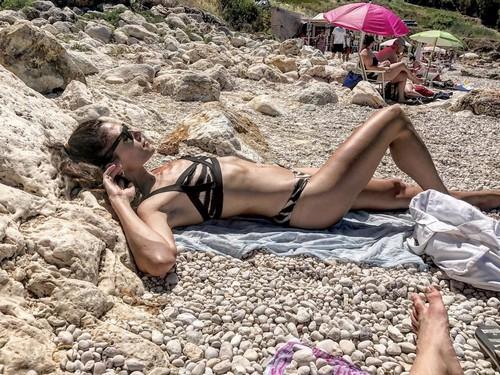 Gioia Marzocchi in Bikini in Sicilia - 09 giugno 2017