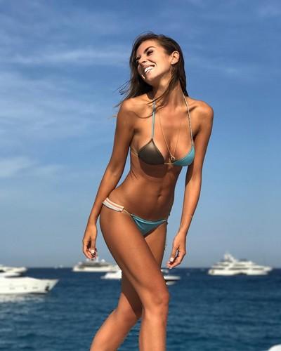 Alessia Reato in Bikini a St. Tropez - 16 luglio 2017