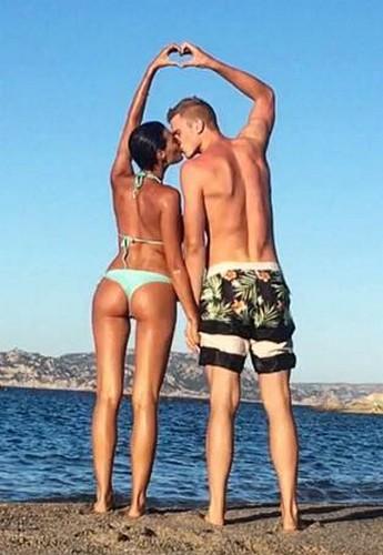 Alice Sabatini in Bikini in Sardegna - 07 luglio 2017
