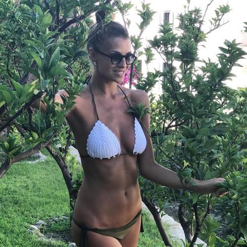 Cristina Chiabotto in Micro Bikini a Ponza - 12 luglio 2017