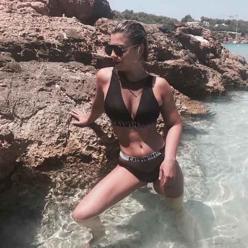 Emma Marrone in Bikini a Formentera - Luglio 2017