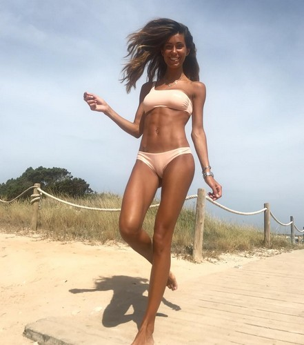 Federica Nargi in Bikini a Formentera - 08 luglio 2017