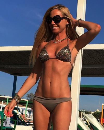 Federica Panicucci in Bikini a Forte dei Marmi - 19 luglio 2017