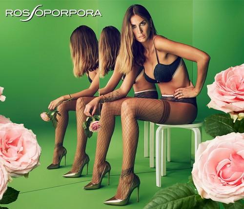 Melissa Satta in lingerie : Rosso Porpora 2017  - Nuove foto
